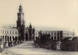 [The Reay Gate clock tower, Junagadh.]